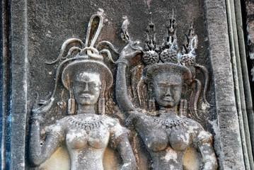 view of angkor wat temple, Krong Siem Reap, Cambodia