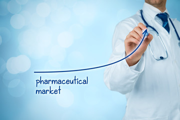 Growing pharmaceutical market