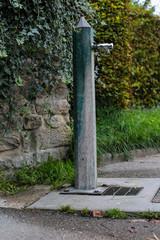 fontaine d'eau potable
