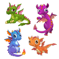Little dragons set.