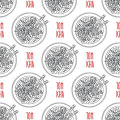 seamless tom kha soup