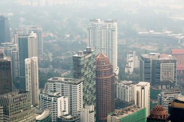 Kuala Lumpur cityscape view, Malaysia