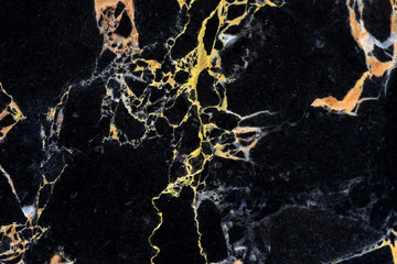 golden black marble pattern with detail of structure texture