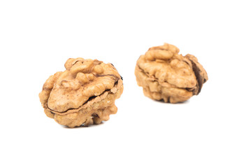 Two walnut without shell