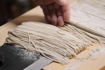 蕎麦打ち - Making Soba Noodles