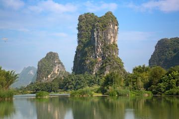 Foto auf Acrylglas Guilin Li River