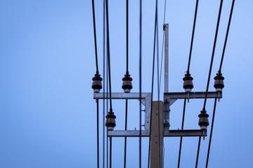 electric transmission pylon