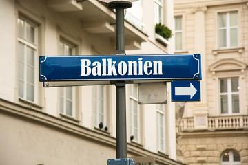Schild 192 - Balkonien