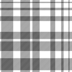 Modern checkered print. Seamless vector pattern with checkers and stripes.