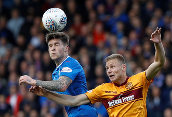 Scottish League Cup Semi Final - Rangers vs Motherwell