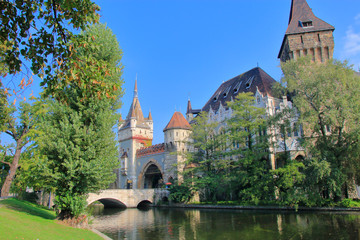 castle Vaidahunyad in Budapest.