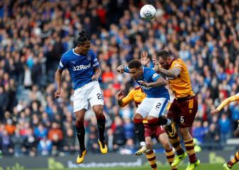 Scottish League Cup Semi Final - Rangers vs Motherwell