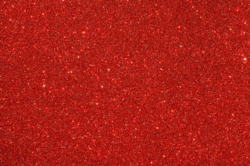 Red (ruby) glitter background. Sparkle texture. Abstract background for New Years or Christmas...