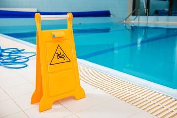 Slippery Swimming Pool Floor