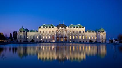 Keuken foto achterwand Wenen Schloß Wien blaustunde
