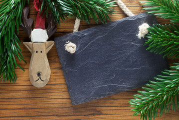 Blank Slate and Reindeer