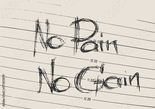 No Pain No Gain Text Gym And Fitness Motivation Quote Creative