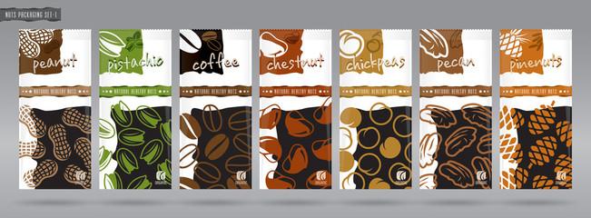 Nuts packaging set - 2