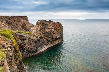 Basalt cliffs, western Greenland