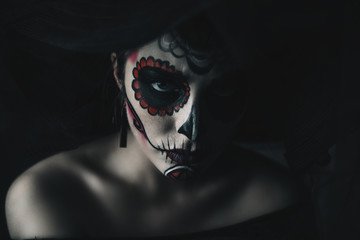 of the dead makeup