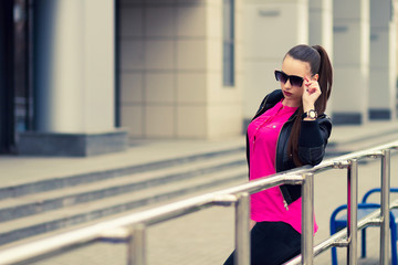stylish girl , urban style , fashion