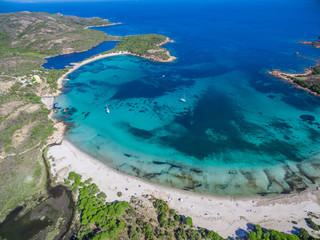 Strand von Rondinara im Süden von Korsika