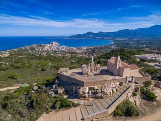 Notre Dame de la Serra oberhalb von Calvi auf Korsika