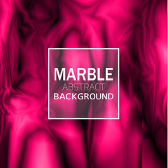 Abstract pink marble background. Vector illustration