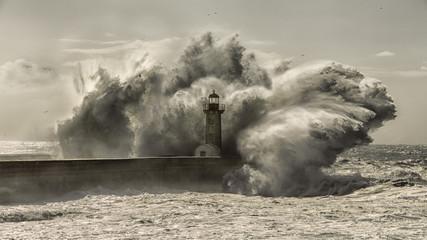 Fototapeta Lighthouse never broke obraz