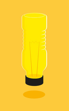 Light Bulb Plastic Bottle Recycling
