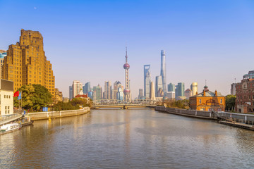 Shanghai Urban Architecture Skyline