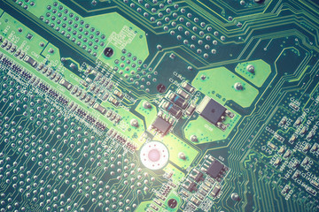 Electric circuit board.