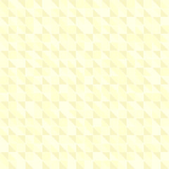 Yellow pastel triangle pattern. Seamless vector background
