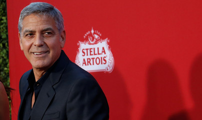 """Director of the movie Clooney attends the premiere for """"Suburbicon"""" in Los Angeles"""
