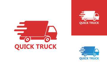Fast Truck Logo Template Design