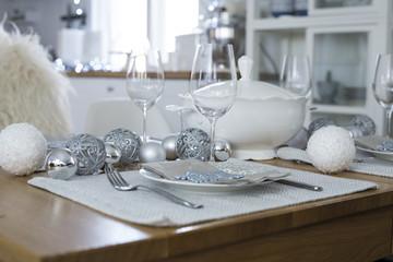 Christmas (Winter) Table Set up