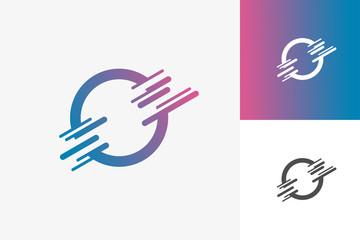 Circle Tech Logo Template Design