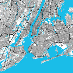 New York City Big Area Map