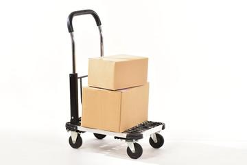 台車と荷物