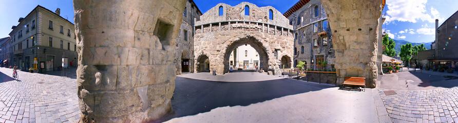Aosta, porta pretoria a 360°