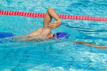 Schwimmen Kraulen Freistil Atmung hoher Ellbogen