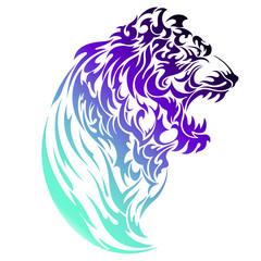 虎のイラスト,