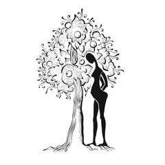 Woman Tree