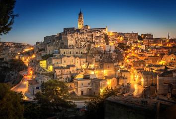 Matera Sassi Basilicata Italy Fototapete