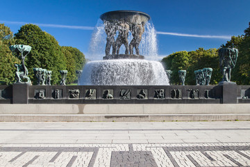 Vigeland Park, The Fountain