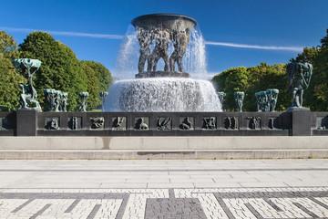 Vigeland Park, The Fountain