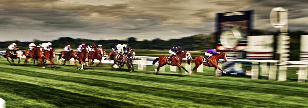 Pferderennen Galloppers