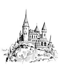 Castle on a rock