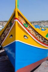 Colorful Malta Fishing Boat
