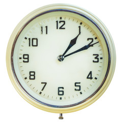 Vintage plastic electric clock